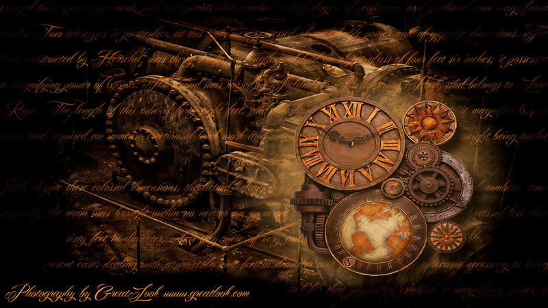 Photography By Greatlook Free Steampunk Wallpaper